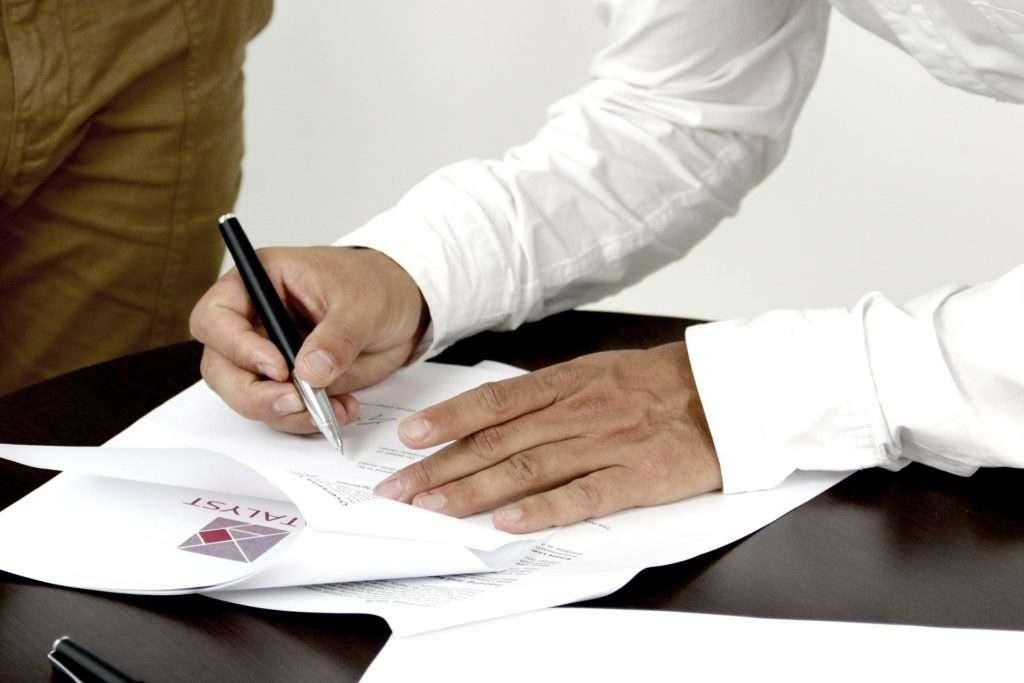 Mietvertrag bei Auszug